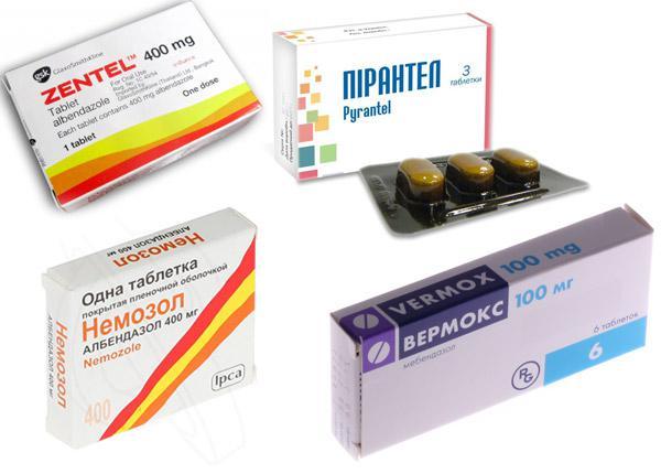 На сегодняшний день существует большое разнообразие препаратов от остриц