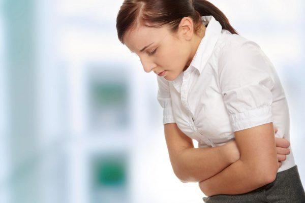 Легкая форма заболевания - это прояв жжения в подложечной области