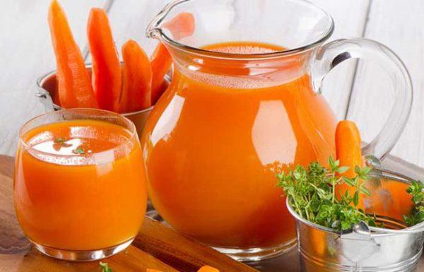 Рецепт с морковным соком отлично подойдет для детей