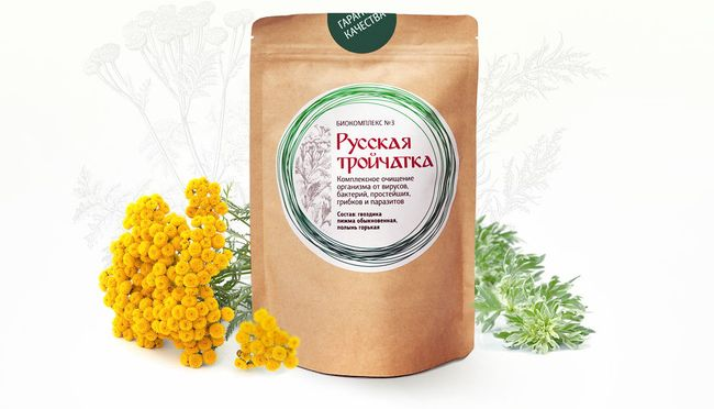 Русская тройчатка - рецепты сборов из лекарственных трав и приправ
