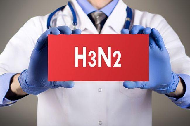 Гонконгский грипп официально называется H3N2