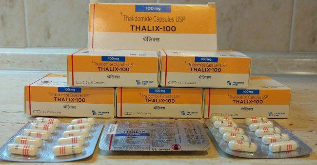 Талидомид (Thalidomide) - этот препарат считается лучшим при лечении лепра-ассоциированной узловатой эритемы