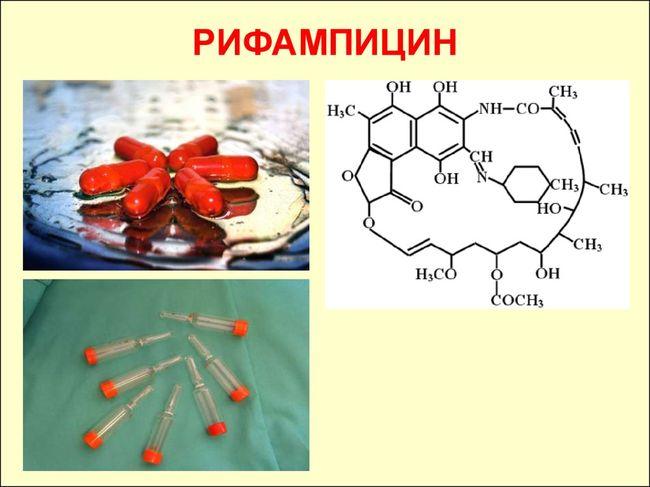 Препарат Рифампицин уничтожает возбудителя проказы
