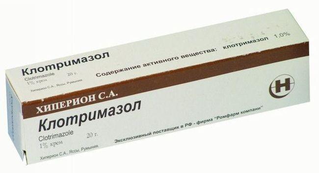 Клотримазол - одно из самых популярных средств по лечению микоза