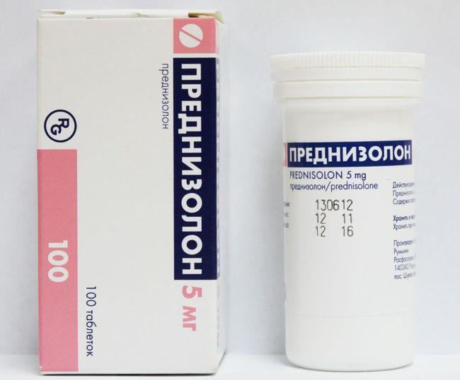 Преднизолоном - лучший препарат при орхите или менингите