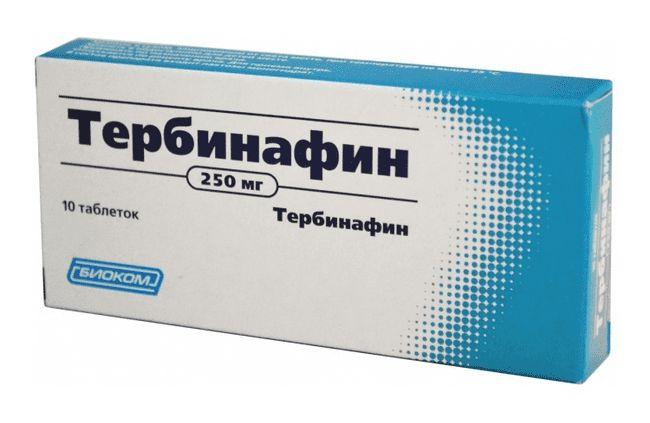 Тербинафин - надежный препарат от плесневого инфекционного грибкового агента