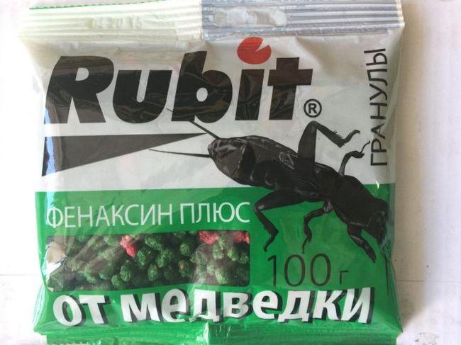 Рубит - одно из лучших средств по устранению медведки