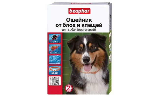 Beaphar - одни из самых популярных ошейников для собак от клещей. Выпускаются в Голландии