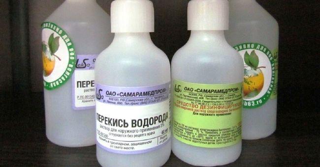 Перекись водорода можно использовать для ухода за растениями и борьбы с паразитами