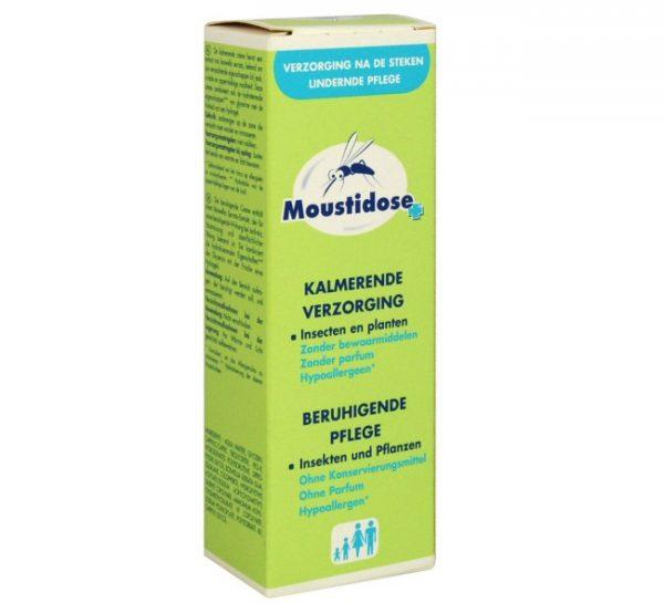 Москидоз (Moustidose) Антикомариный» детский, препарат выпускается в виде крема или спрея, разрешен для малышей от 3 месяцев