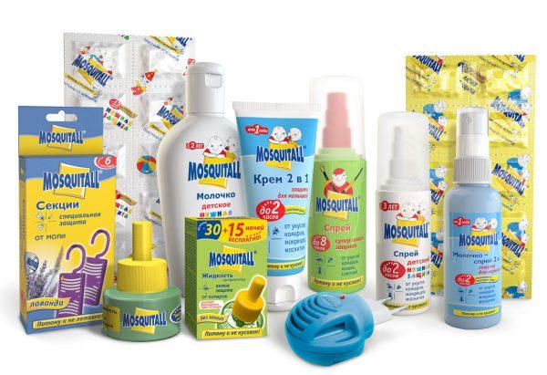 Средство разработано специально для защиты детей от 1 года от укусов насекомых как во время прогулок на открытом воздухе, так и во время дневного и ночного сна