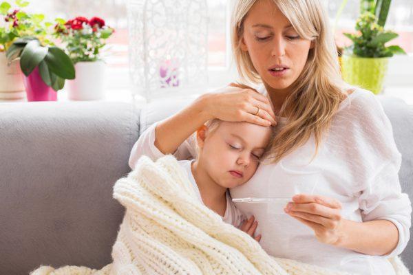 Будьте внимательны и контролируйте состояния вашего ребенка во время болезни, чтобы избежать осложнений