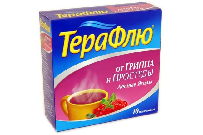 Терафлю - производится в Швейцарии мировым лидером в фармацевтической области корпорацией Новартис АГ