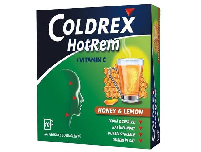 Колдрекс - в его состав входит фенилэфрин гидрохлорид, благодаря этому препарат устраняет отечность слизистой оболочки носа, облегчая дыхание пациенту