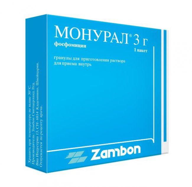 Монурал оказывает бактерицидное действие.