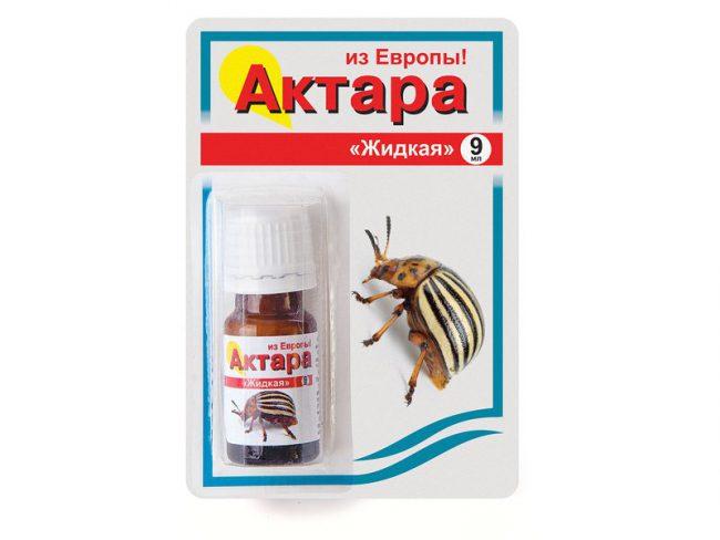 Актара успешно используется от колорадского жука, от тли и других насекомых