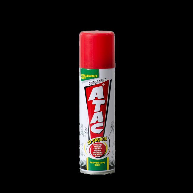 Аэрозоль Атас идеально подойдет для мест, где кровососущие насекомые особенно агрессивны