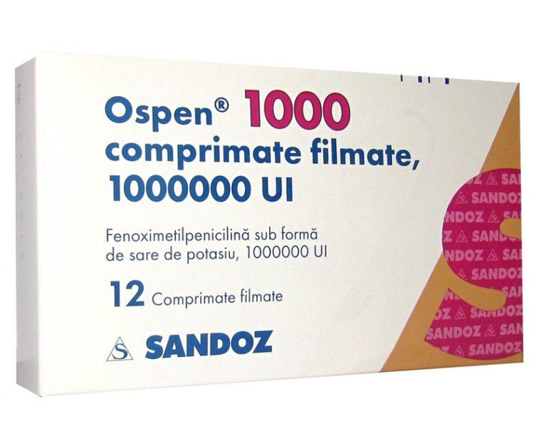 Оспен - аналог Бициллина, производится в Австрии